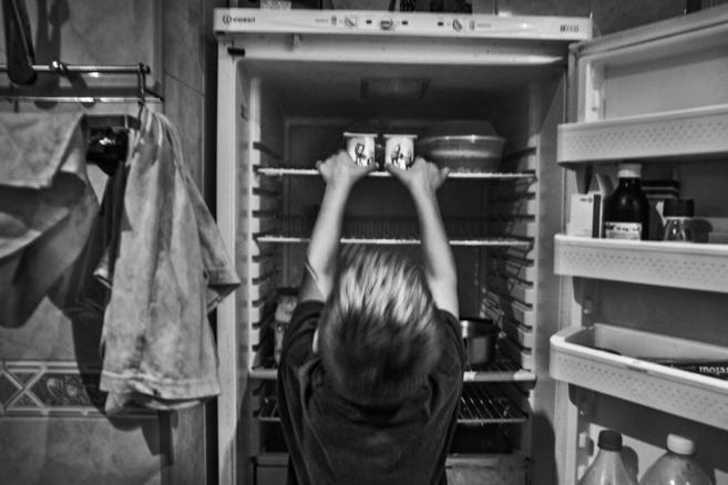 El cajón del frigorífico